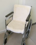 Wool Pile Wheelchair Seat & Seat Back Pad - 1 piece